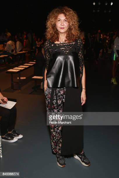 Brigitte Segura attends Lisa N Hoang during New York Fashion Week at Pier 59 on September 10 2017 in New York City