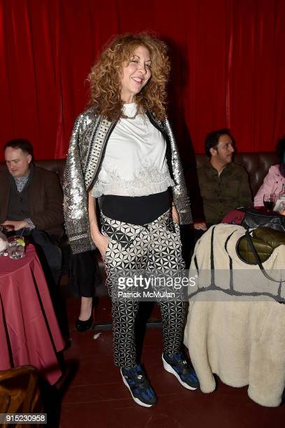 Brigitte Segura attends the Nick Graham Performance February 2018 Mens' New York Fashion Week at The McKittrick Hotel on February 6 2018 in New York...