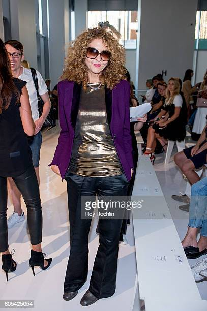 Brigitte Segura attends the Reem Acra fashion show during New York Fashion Week September 2016 on September 13 2016 in New York City