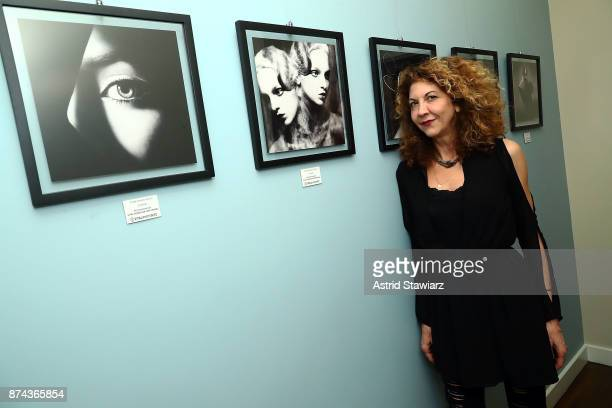 Brigitte Segura attends 'VITAL PORTRAITS' solo photography exhibition opening at Konstantin Gallery on November 14 2017 in New York City