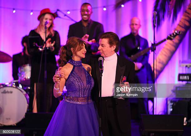 Brigitte Sherman and singer Bobby Sherman attend the Brigitte and Bobby Sherman Children's Foundation's 6th Annual Christmas Gala and Fundraiser at...