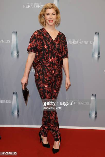 Brigitte Zeh attends the German Television Award at Palladium on January 26 2018 in Cologne Germany