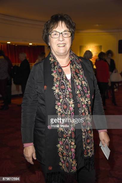Brigitte Zypries attends the premiere of 'Gayle Tufts Very Christmas' on November 26 2017 in Berlin Germany