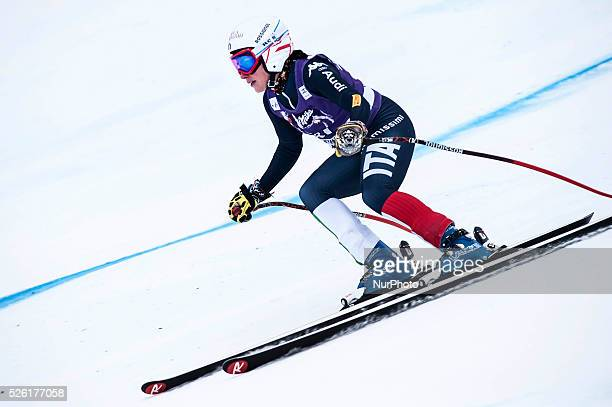 Brignone Federica -ITA-AUDI FIS SKI WORLD CUP-Prove cronometrate- La Thuile-Valle D'Aosta 8th Ladies' downhill-superG on 18th February , 2016.