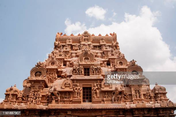 brihadeeswara temple, thanjavur, india. unesco world heritage site, - hinduism stock pictures, royalty-free photos & images