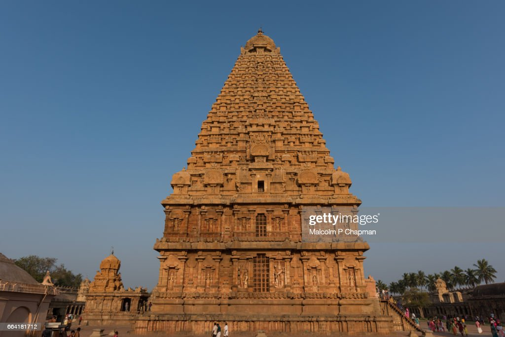 Brihadishwara Temple Thanjavur Tamil Nadu India Stock Photo