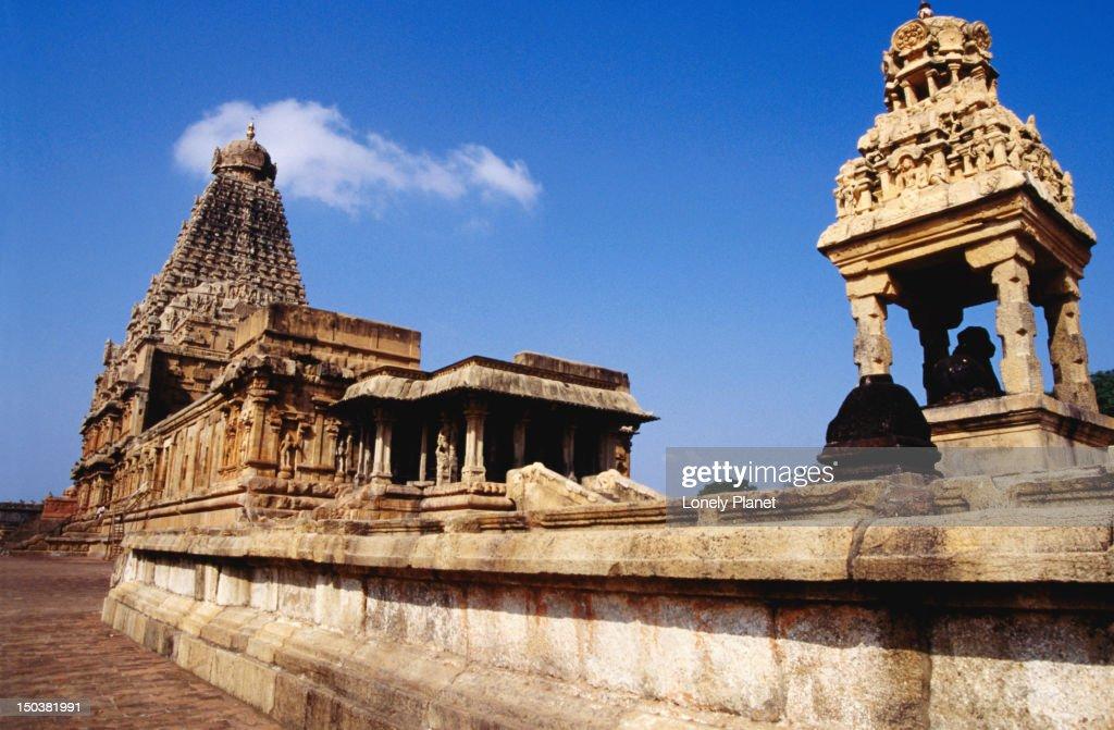 Brihadishwara Temple Thanjavur Tamil Nadu Stock Photo