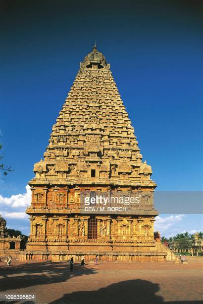 Brihadisvara temple, Thanjavur, Tamil Nadu, India, 10th century.
