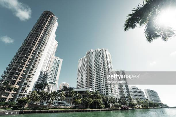 brikell skyline in miami - downtown miami stock pictures, royalty-free photos & images