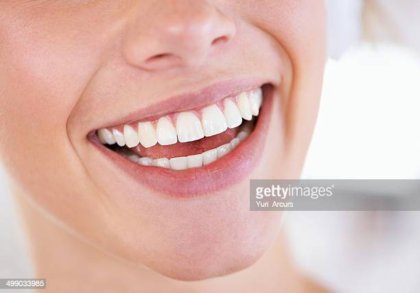 Brilliant display of pearly whites