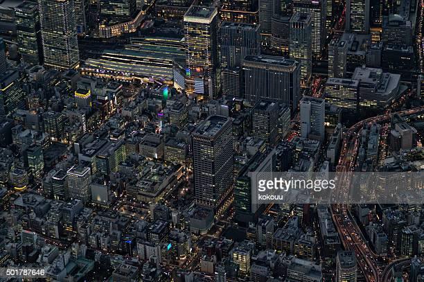 な都会の nightscape