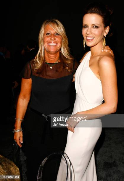 BrillsteinGrey Entertainment's Cynthia PettDante and actress Kate Beckinsale attend ELLE Magazine's 15th Annual Women in Hollywood Tribute held at...