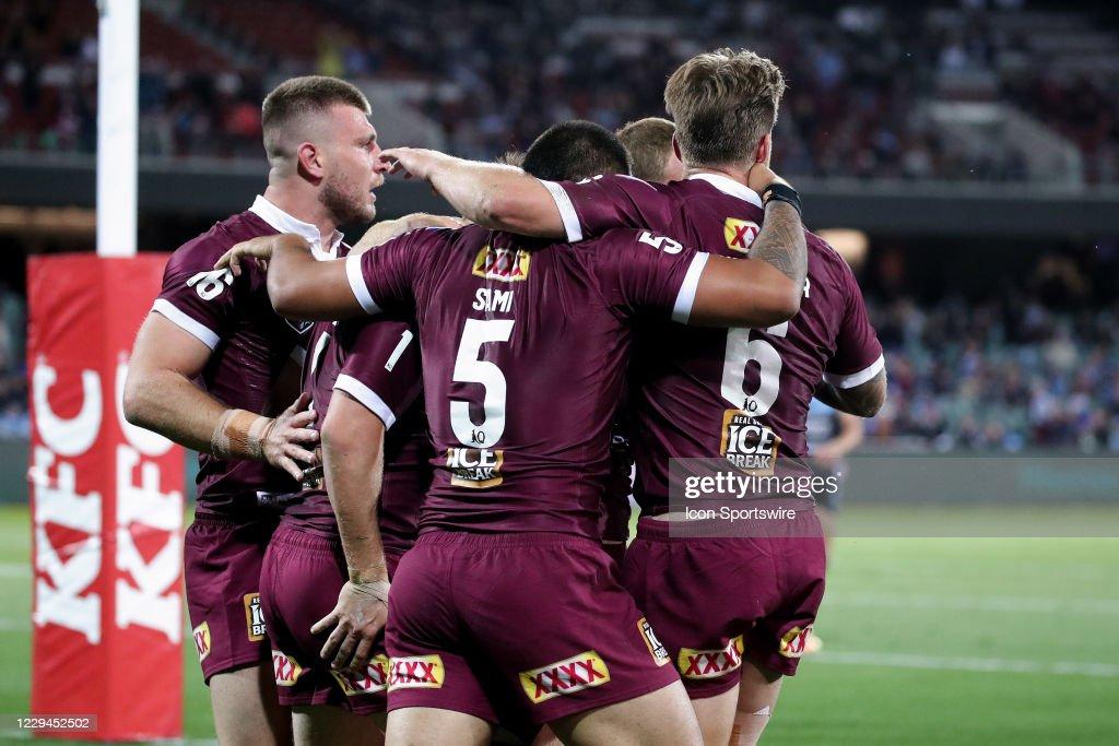 RUGBY: NOV 04 NRL - QLD Maroons v NSW Blues : News Photo