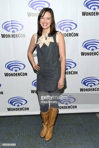 Brina Palencia attends the Star Crossed press panel at WonderCon Anaheim 2014 Day 1 at Anaheim Convention Center on April 18 2014 in Anaheim...