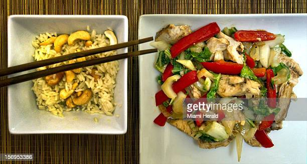 Bring a taste of Asia to your leftover Thanksgiving turkey Crisp fried vegetables and turkey in a sweet teriyaki sauce makes a quick colorful quick...