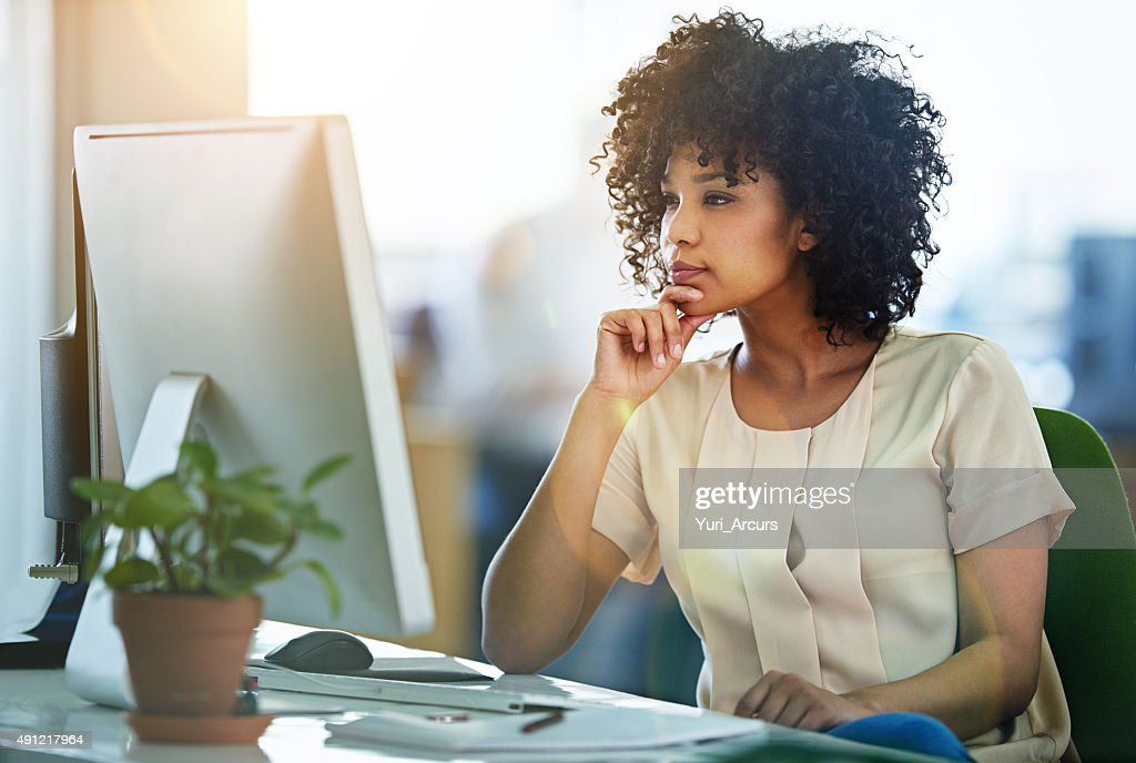 Bring her expertise to design : Stock Photo