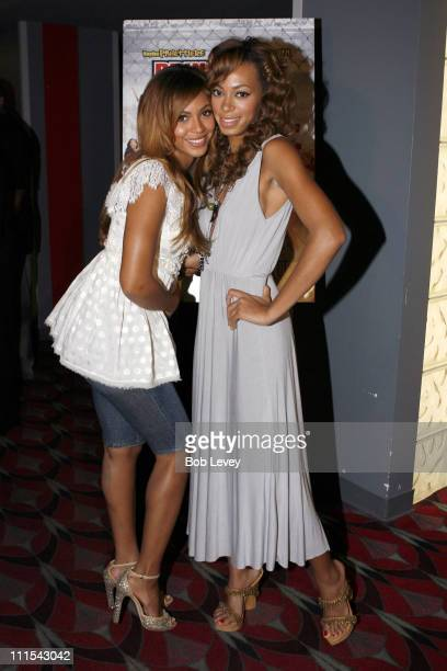 All or Nothing star Solange KnowlesSmith enjoys the support of her Grammy Awardwinning sister Beyonce Knowles at special August 2 hometown screening...