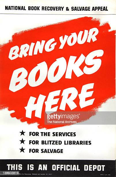 Bring Your Books Here WWII