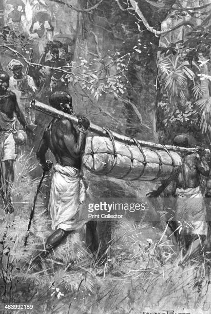 Bringing David Livingstone's body down to the coast Africa 1873 Scottish missionary and explorer Livingstone was the first European to discover the...