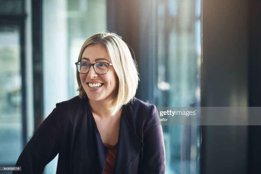 Bringing positive energy to the workplace : Stock Photo