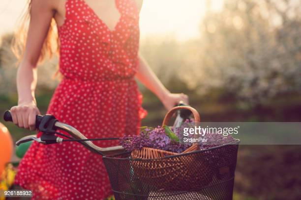 bringing some of the spring freshness and beauty - dress stock pictures, royalty-free photos & images