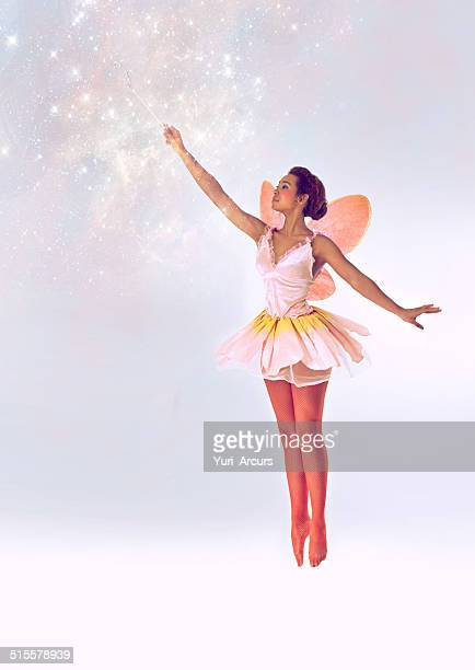 bringing the magic - fairy stock photos and pictures