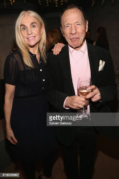 Brinkley Skye and Anthony HadenGuest attend AVENUE Celebrate its two Newest Contributing Editors Nina Griscom and Anthony HadenGuest on February 13...