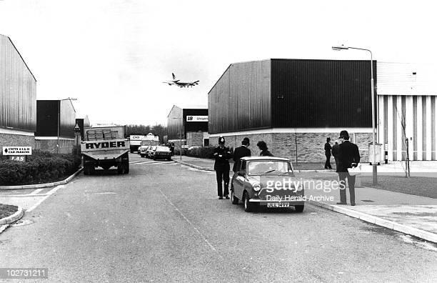 BrinksMatt security warehouses Heathrow Airport 1983 The vault at the Brinks Matt depository was broken into and tons of gold bullion worth an...