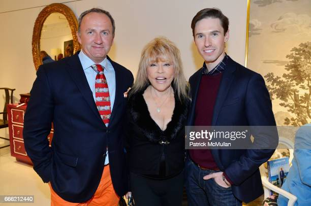 Brinsely Matthews Rita McKenzie and Andrew Nodell attend Carlton Varney Book Party at 1stdibs Gallery on April 6 2017 in New York City