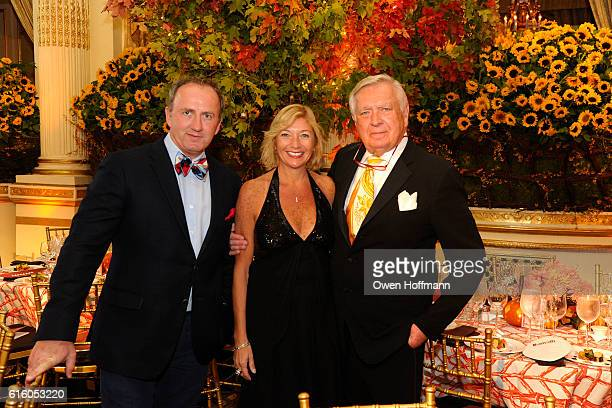 Brinsley Matthews Cheryl Jarvis and Carlton Varney attend An Evening Honoring Joe Namath at The Plaza Hotel on October 20 2016 in New York City