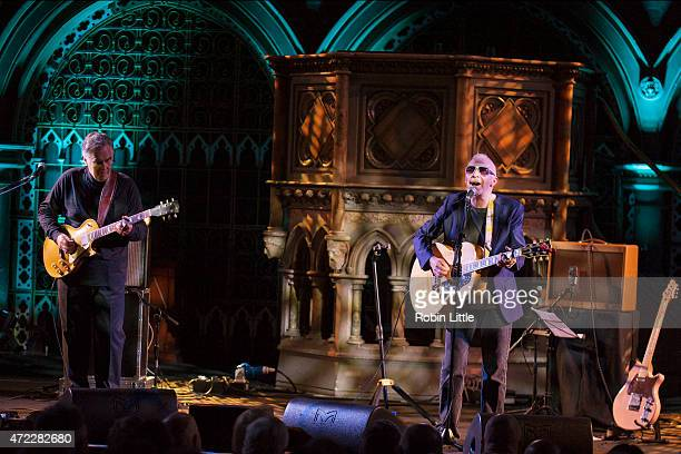 Brinsley Schwarz and Graham Parker perform at the Union Chapel on May 5, 2015 in London, United Kingdom