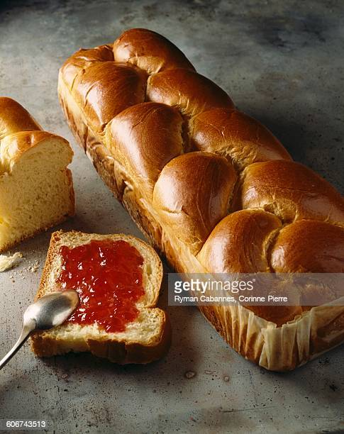 Brioche from Vende with jam