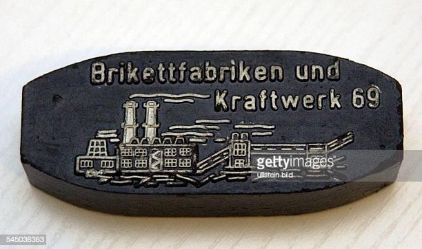 briquette from the VEB Braunkohlenkombinat Lauchhammer