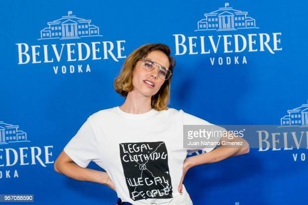 Brisa Fenoy attends Belvedere Vodka party at Capitol Cinema on May 10 2018 in Madrid Spain