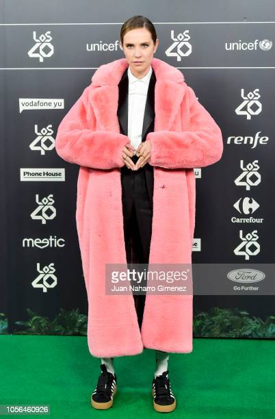 Brisa Fenoy attends during 'LOS40 Music Awards' 2018 at WiZink Center on November 2 2018 in Madrid Spain