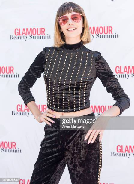 Brisa Fenoy attends Glamour beauty summit photocall on May 4 2018 in Madrid Spain