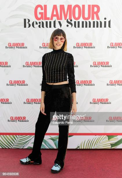 Brisa Fenoy attends the 'Glamour Beauty Summit photocall' at Gines de los Rios Foundation on May 4 2018 in Madrid Spain