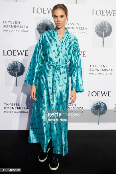 Brisa Fenoy attends the Loewe exhibition opening at ThyssenBornemisza museum on September 09 2019 in Madrid Spain