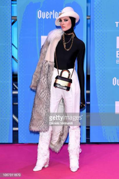 Brisa Fenoy attends the MTV EMAs 2018 on November 4 2018 in Bilbao Spain