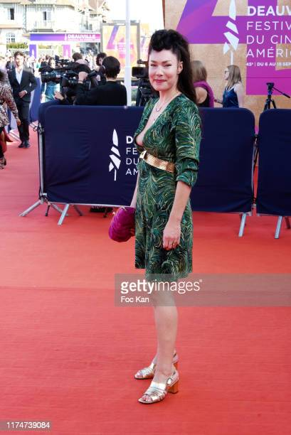 Brisa Roché attends the Award Ceremony during the 45th Deauville American Film Festival on September 14 2019 in Deauville France