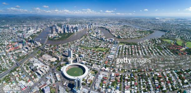 Brisbane Aerial Panorama, Queensland, Australia