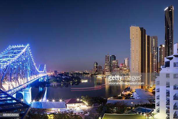Brisbane CBD at dawn
