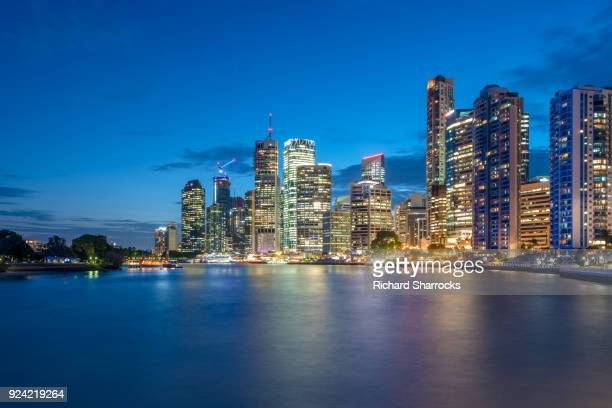 Brisbane Central Business District waterfront