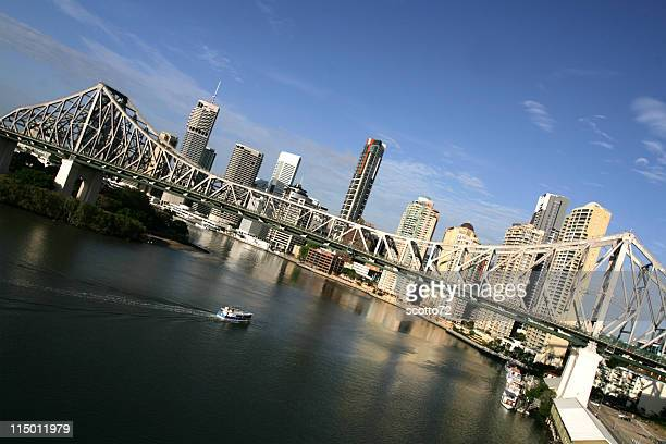 Brisbane city and Ferry