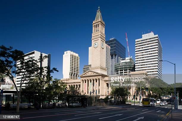 Brisbane City Hall, Brisbane, Queensland, Australia.