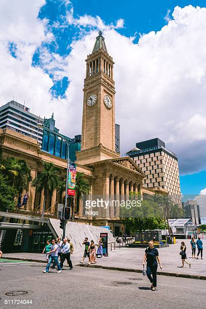 Brisbane City Hall in Queensland, Australia