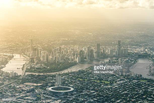 brisbane city - brisbane stock photos and pictures