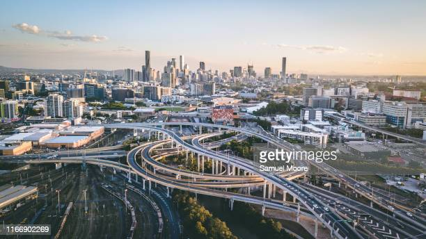 brisbane drone - brisbane stock pictures, royalty-free photos & images