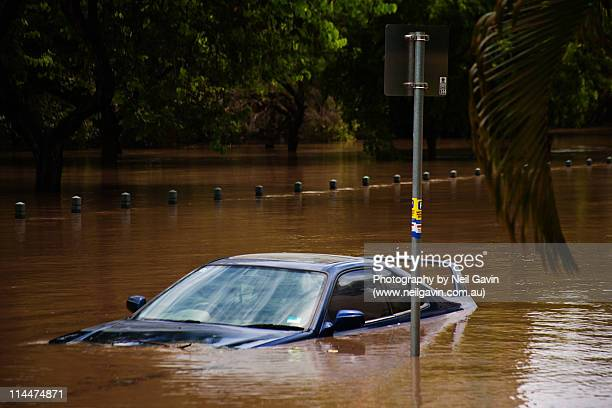 brisbane floods. - flooding stock photos and pictures