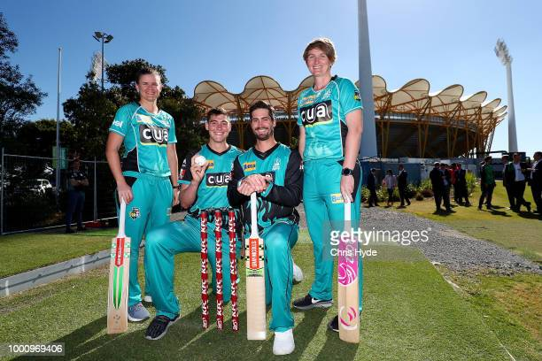 Cricket Australia Head of Big Bash local and state government representatives plus representatives from Queensland Cricket Brisbane Heat and...